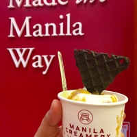 Salted Egg Cheesecake Gelato by Manila Creamery